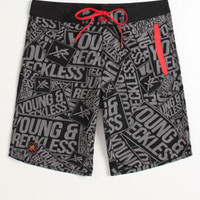 Young & Reckless Scattered Boardshorts at PacSun.com