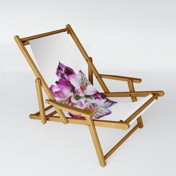 Alstroemeria-Angle Sling Chair by duckyb