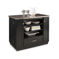 Home Styles Versatile Hardwood Kitchen Island