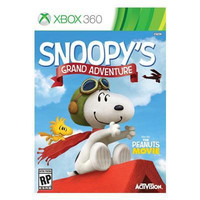 Snoopy's Grand Adventure Xbox 360 Video Game