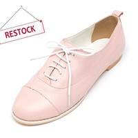 Pink Erland Oxfords - Free Hair Band