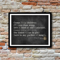 Hocus Pocus Quote - Sarah Sanderson Come Little Children - 8x10 Perfect Fall Decor - Digital, Printable File Download