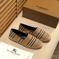 BURBERRY  Fashion Men Women's Casual Running Sport Shoes Sneakers Slipper Sandals High Heels Shoes