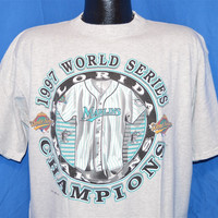 90s Florida Marlins World Series Champs Miami t-shirt Extra-Large