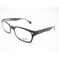 Ray-Ban RB 5150 Top Black on Transparent 2034 Eyeglasses