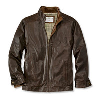 Men's Lambskin Leather Jacket / Featherweight Lambskin Jacket -- Orvis