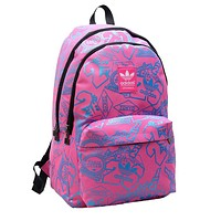 ADIDAS popular new printed shopping bag fashion casual bag for men and women #4