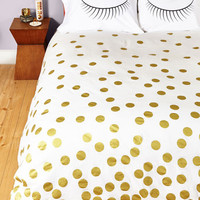 Dorm Decor Sleeps and Bounds Duvet Cover in Full, Queen by ModCloth