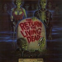 The Return of the Living Dead 11x17 Movie Poster (1985)