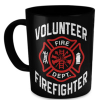 Volunteer Firefighter Mug volunteer-firefighter