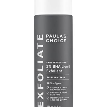 Skin Perfecting: 2% BHA Liquid Exfoliant