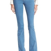 Veronica Beard 'Biscayne' High Rise Flare Jeans (Retro Blue) | Nordstrom