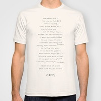 Survival guide 2015 T-shirt by Deadly Designer
