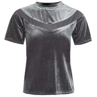 **Velvet T-Shirt by Glamorous Petites - New In This Week - New In