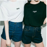 Day & Night Tee from MILK CLUB
