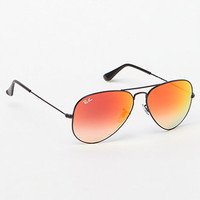 Ray-Ban Aviator Flash Lenses Sunglasses at PacSun.com