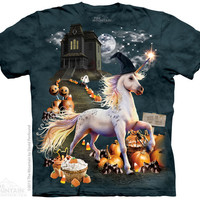 Halloween Unicorn Kids T-Shirt