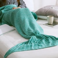 Mermaid Blanket Pattern Crochet Mermaid Tail Watch Gift