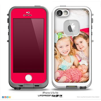 The Add Your Own Photo Skin for the iPhone 5-5s Fre LifeProof Case