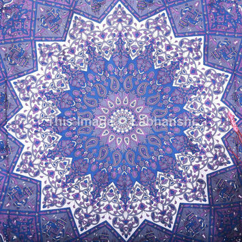 Star Tapestry, Hippy Hippie Wall Hanging, Star Mandala Tapestry Tapestries, Mandala Bedcover/Bedspread, Bohemian Bedding, Mandala Dorm Decor