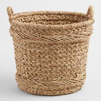Large Natural Braided Hyacinth Blythe Baskets