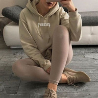 Chic Yeezus Long Sleeve Sweater Hoodies