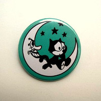 Felix the cat - button badge or magnet 1.5 Inch
