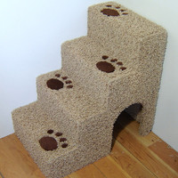 """24"""" tall x16"""" wide x 24"""" deep Dog steps, pet stairs. For small dogs or cats."""