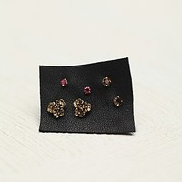 Womens Tiny 6 Pack Studs