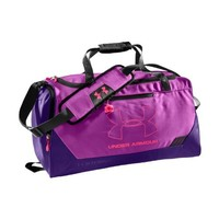 Under Armour UA Hustle Storm SM Duffle Bag One Size Fits All STROBE