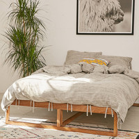 Morey Platform Bed | Urban Outfitters