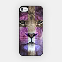 for iPhone 6/6S - High Quality TPU Plastic Case - Hipster Lion - Crucifix Lion