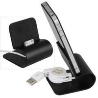 USB Aluminum Charger Desktop Cradle Dock Station Stand for iPhone 4 4s