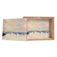 Maybe Sparrow Photography Geometric Alaska Storage Box