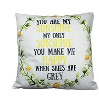 You are my Sunshine My Sunshine | Pillow Cover | My Only Sunshine | Nursery Decor | Love Gift | Home