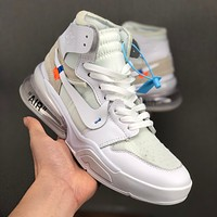 Nike Air Jordan 1 x OFF-White x 270 NGR White Men Women Sneakers - Best Deal Online