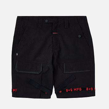 Strapped Up Shorts Rip Stop Bred