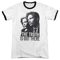 X Files - Truth Adult Ringer
