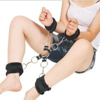 On Sale Hot Deal Hot Sale Leather Sex Toy Corset Handcuffs [6628188227]
