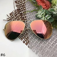 Ray-Ban UV protection for men and women Polarized lens color film sunglasses F-A-SDYJ #6