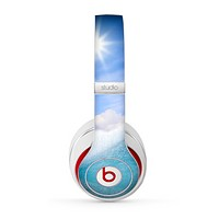 The Sunny Day Waves Skin for the Beats by Dre Studio (2013+ Version) Headphones
