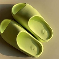 Adidas YEEZY Slide Glow Green Slippers Shoes