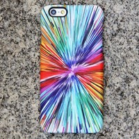 Abstract Color Painting iPhone XS Max iPhone XS Max plus Case Blue iPhone 8 SE iPhone Case Samsung Galaxy S8 S6  Note 3 Case 045