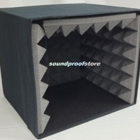 Portable Microphone Studio Voice Booth Isolation Box