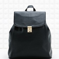 Cooperative Vintage Style Backpack in Black - Urban Outfitters