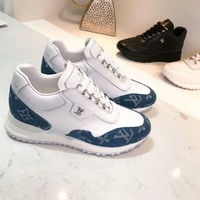 Louis Vuitton Vintage Shoes Women Men Sneakers LV Wave Line Sneaker   Sports Shoes