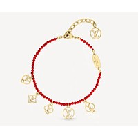 Louis Vuitton LV Woman Fashion Accessories Fine Jewelry Ring & Chain Necklace & Earrings Newest Popular Women Delicate 070135
