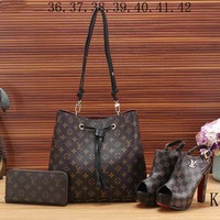 LV Louis Vuitton new women's exquisite three-piece fashion F-KSPJ-BBDL