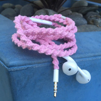 Carnation MyBudsBuzz Wrapped Headphones Tangle Free Earbuds Your Choice of Headphones