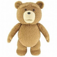 """Ted 16"""" Plush Figure with Sound & Moving Mouth"""